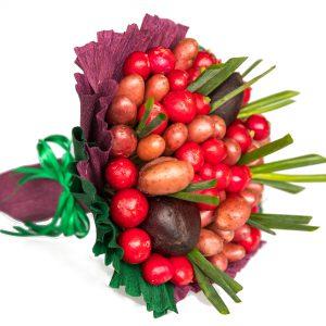 Radieschen, Lila Kartoffeln, Rote Bete, Frühlingslauch, Geschenkidee, Weihnachtsgeschenk