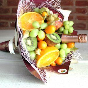 Muttertag, Frauentag,, Valentinstag, Obst, Sekt, Geschenkidee, für Mutter, Mama