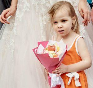Hochzeit, Brautstrauß, Events, Süßer Strauß