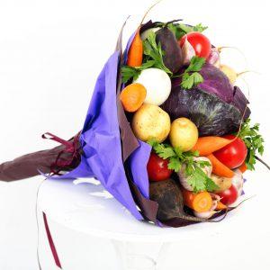 Gemüsesuppe, Gemüsestrauß, Geschenkidee, Strauß, Blumenstrauß, Veganegeschenke, Weihnachtsgeschenk