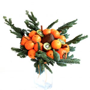 Weihnachtsgeschenk, Weihnachten, Obst, Vegan, lecker