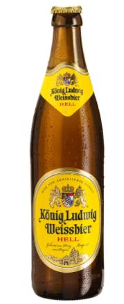 König Lüdwig Weißbier 0,5 L